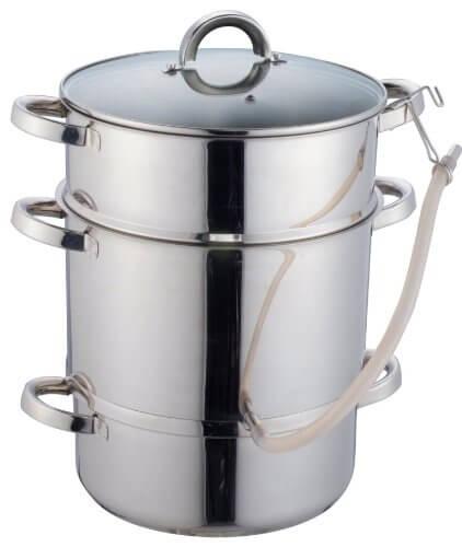 vegane Küche Dampfentsafter
