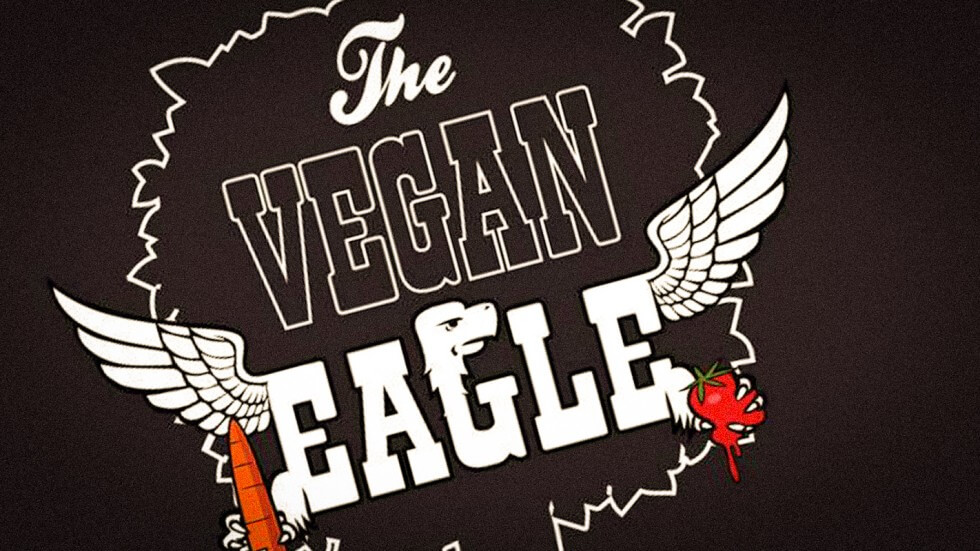 The Vegan Eagle Logo