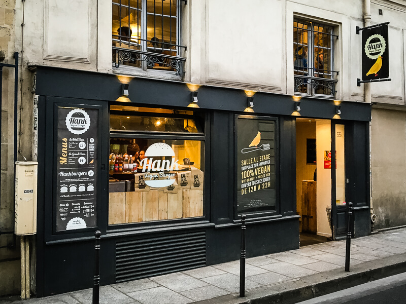 Hank Restaurant Vegan Paris