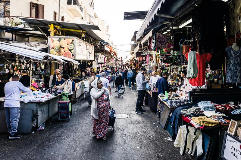 Te Aviv vegan Carmel Market