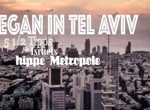Vegan in Tel aviv Titel