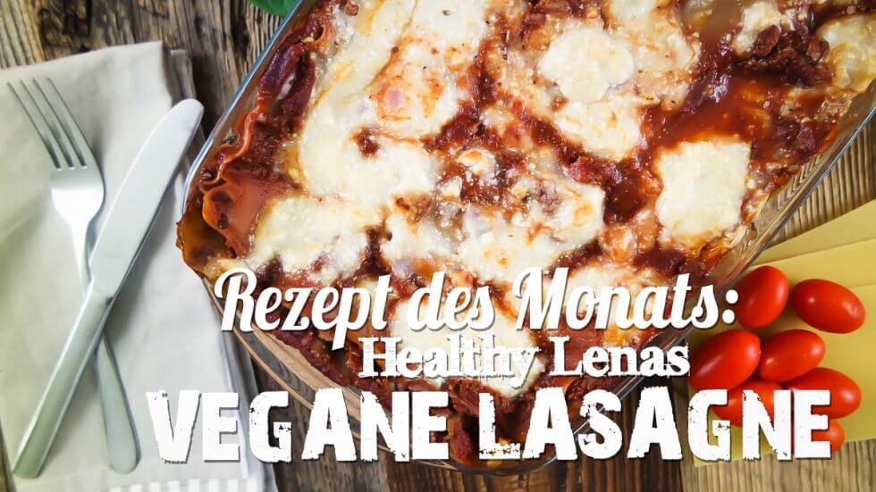 Rezept des Monats Vegane Lasagne Titelbild