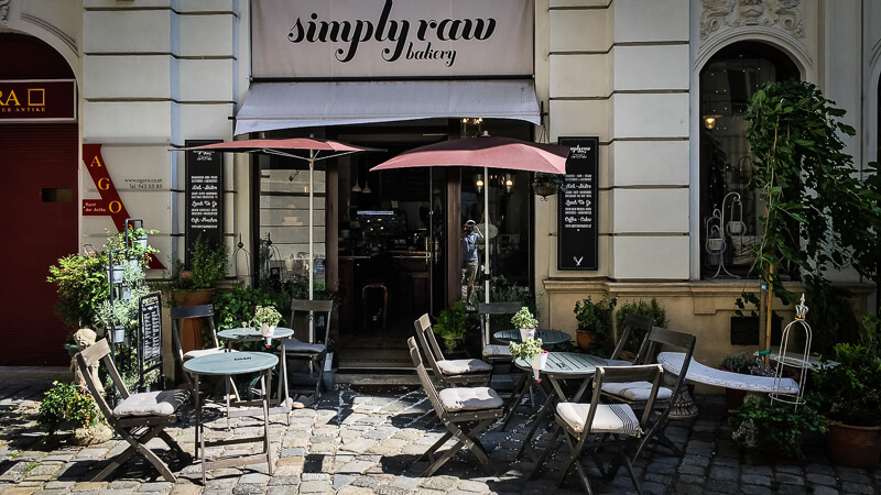 Wien vegan Simply Raw Bakery