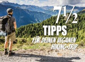 Veganes Wandern Titelbild