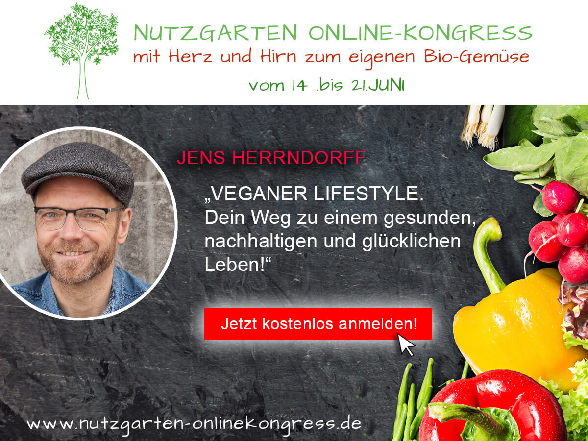 Nutzgarten-Onlinkongress - Jetzt anmelden!