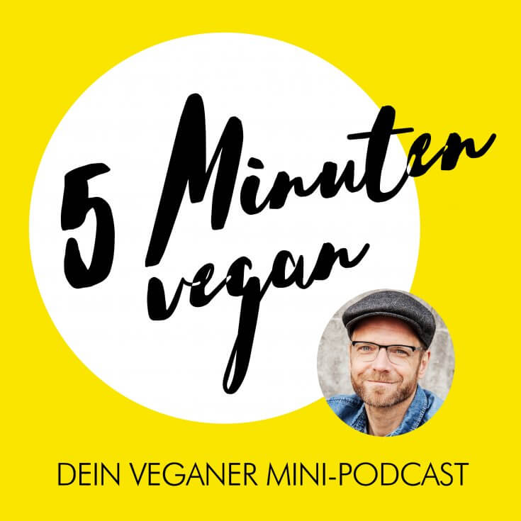 5 Minuten vegan Cover