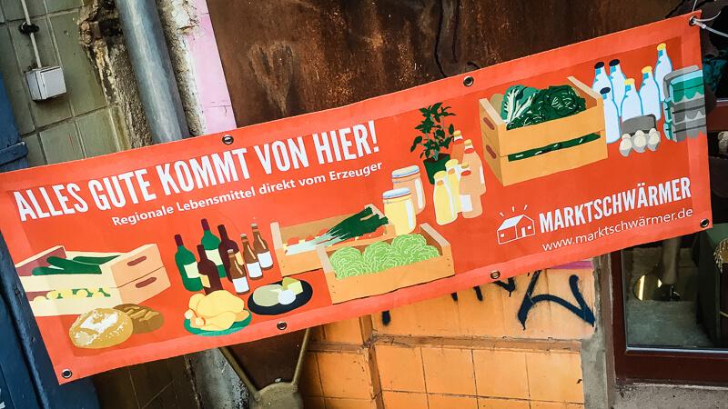 News aus Leipzig Marktschwärmerei