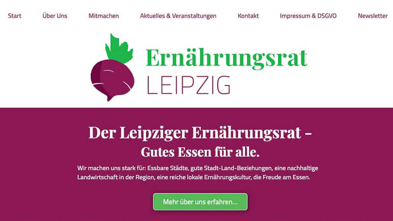 News aus Leipzig Ernährungsrat