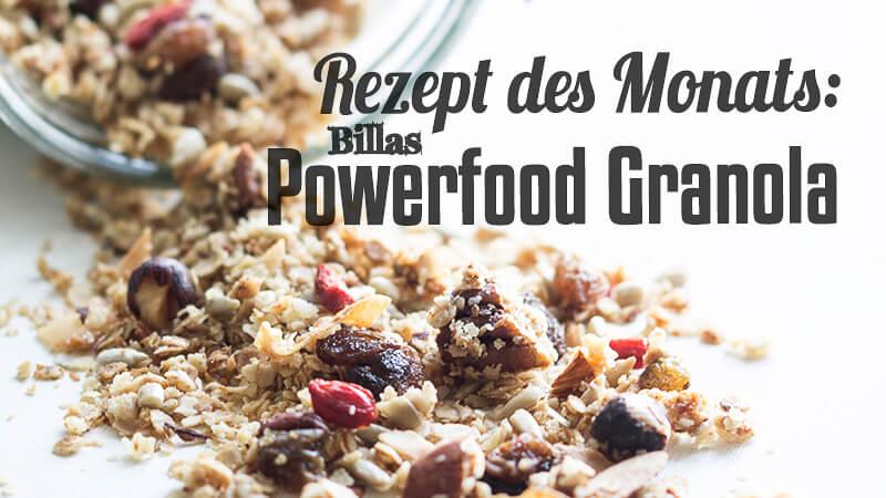 Billas Powerfood Granola